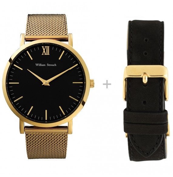 GOLD WATCH + STRAP