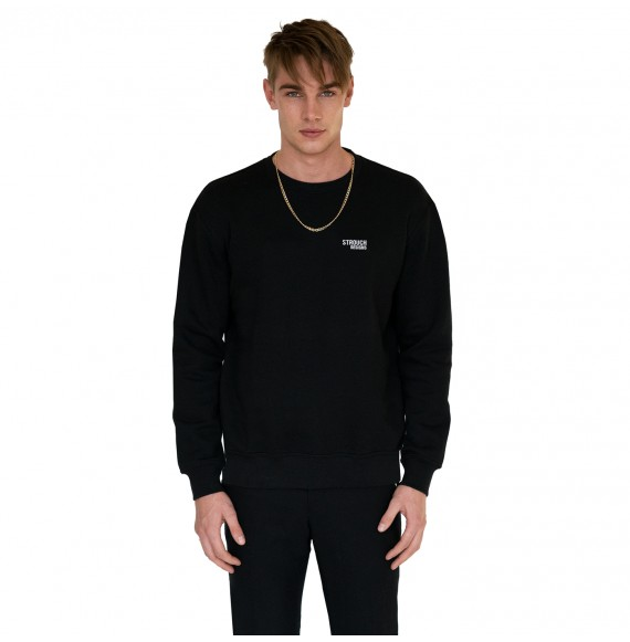 Black sweatshirt small logo