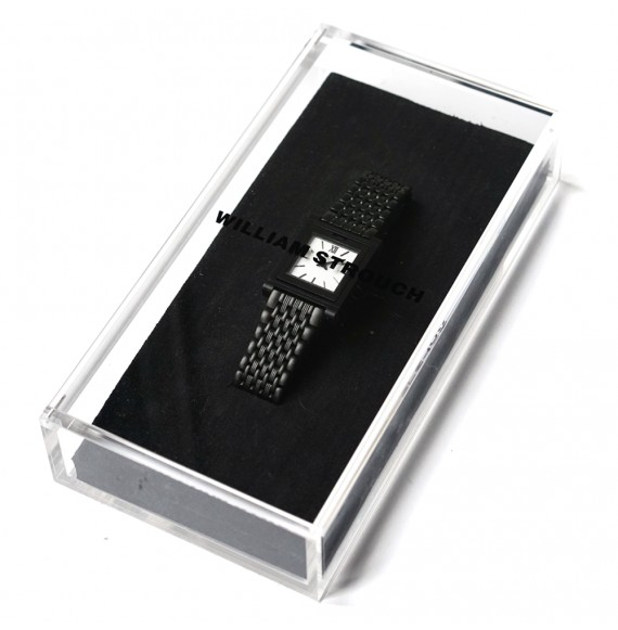 Black reversible watch